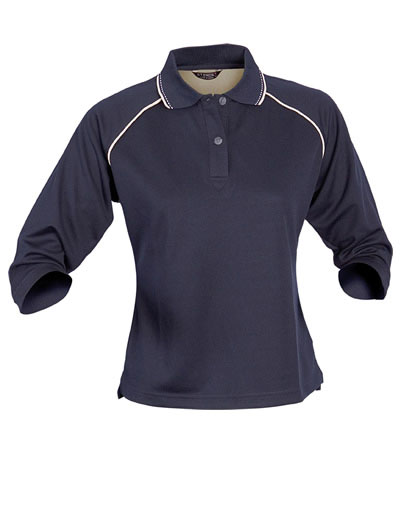 1140 THE COOL DRY POLO - Ladies 3/4