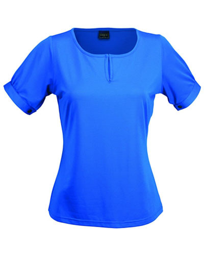 1258S THE SILVERTECH LADIES S/S TOP