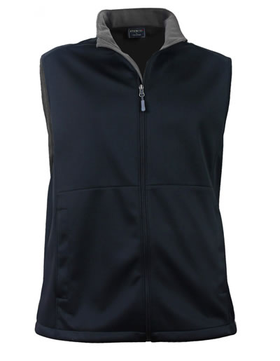 3047 BONDED SOFTSHELL VEST JACKET - Men's